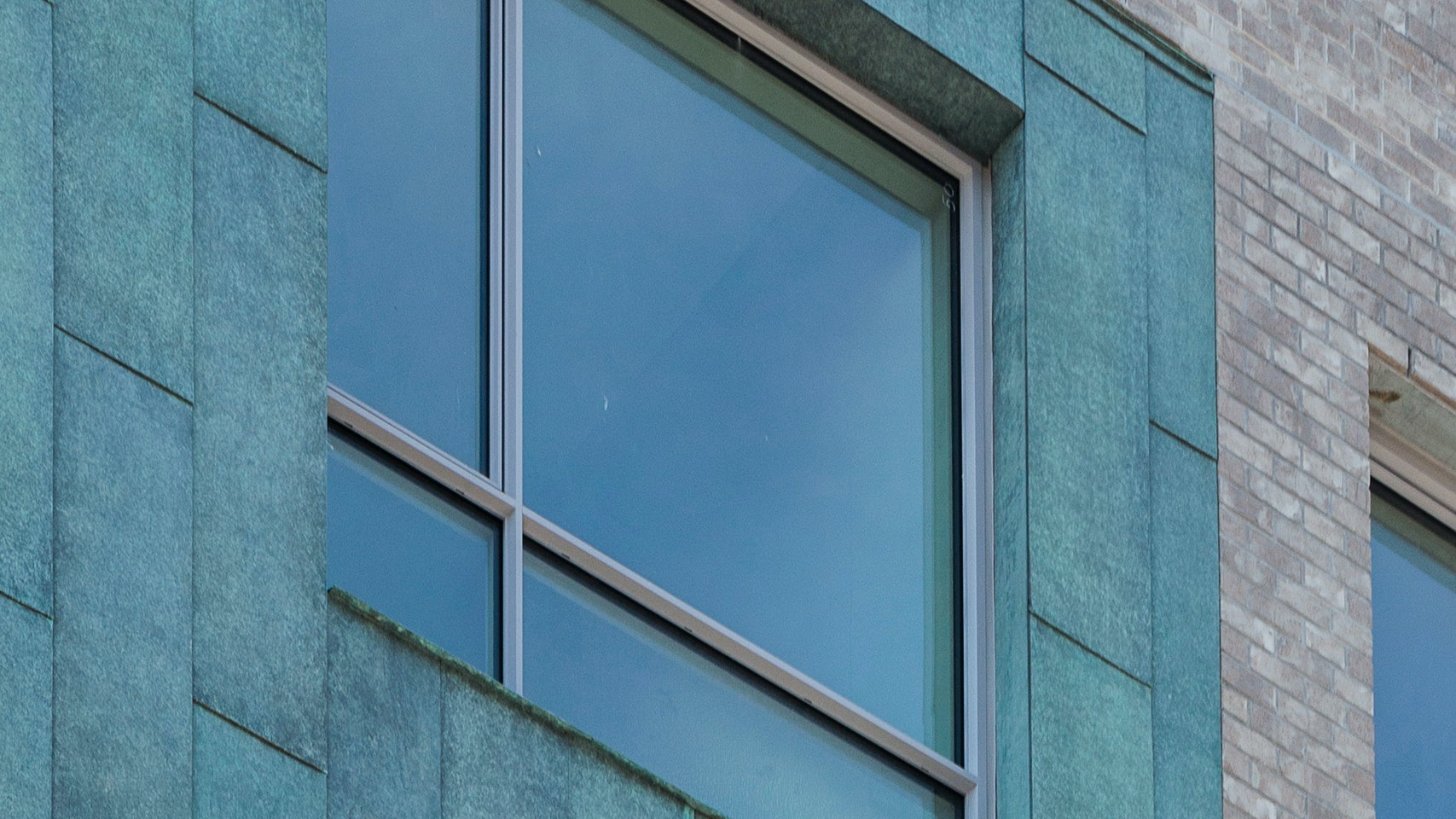 Transforming a Williamsburg facade with Patinated Copper