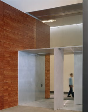 Interior metalwork for the Nissan Design Studio in Michigan.