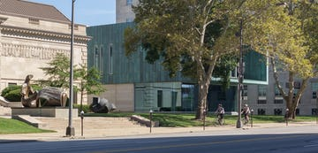 Columbus Museum of Art, view from the main entrance.