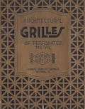 Advertisement for architectural grilles. c. 1920.