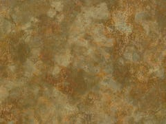 Zahner Roano™ - zinc with brown and orange patterned
