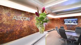Aecom reception dirty penny c aecom 3262