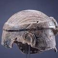 Stone helmet, Sumeria; 2500 BCE.