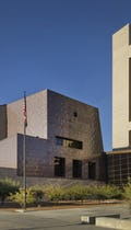 Detail of the Special Proceedings Court at El Paso's Federal Courthouse.