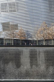 Zahner selectively polished the 9/11 Museum.