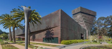 de Young Museum, photographed in 2016, a decade after its opening