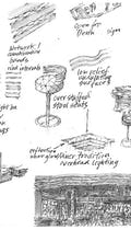 Preliminary project sketches by James Wines.