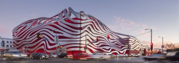 Petersen Automotive Museum with ZEPPS facade by Zahner.