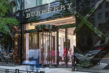 Burberry Chicago flagship store on Michigan Avenue.