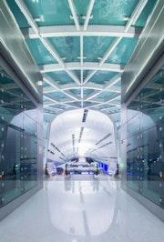 Miami intermodal train station mia airport