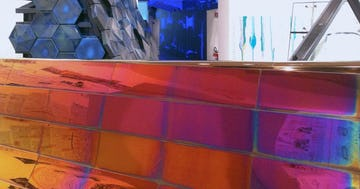 Zahner Facade Canopy Mockup for Venice Biennale 2014
