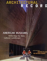 November 2005 cover issue for ArchRecord.