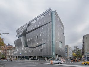 Cooper Union New Academic Building at 41 Cooper Square in New York City