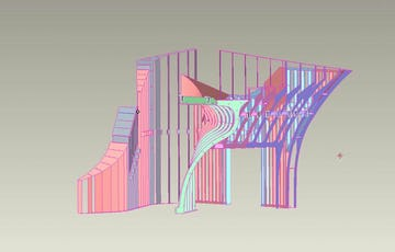 Hunter stair cad
