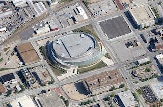 Bok center tulsa arena aerial