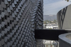 Emerson College featured in The Circle. Design by M0rphosis, fabrication by Zahner.