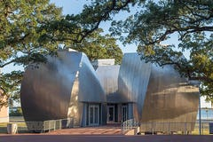 Ohr-O'Keefe Museum Pods designed by Frank Gehry Partners.
