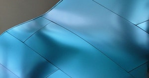 Metal installation interference blue stainless canopy 01