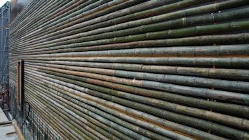 Daeyang gallery bamboo surface