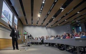 Zahner lectures at UMKC