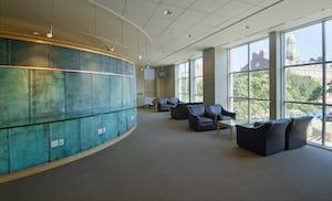 SMU Collins Center study room.