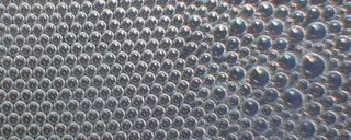 Circle packing perforated metal