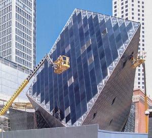 Contemporary jewish museum construction