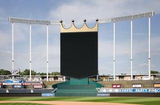 Kauffman Stadium Crown for the Royals in Kansas City
