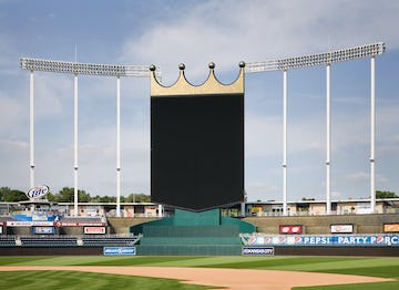 Kauffman Stadium Crown for the Royals in Kansas City