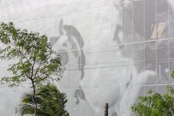 John baldessari beach facade miami