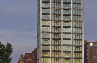 The 19-floor residential tower at 200 Eleventh Avenue