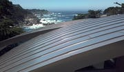 Standing seam custom roof system by Zahner.