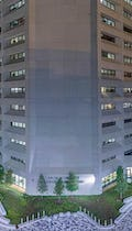 Panoramic view of the GSA Building in Jackson, Mississippi.