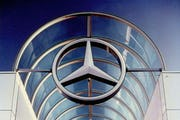 Custom signage for Mercedes Benz.