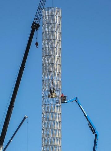 Unmc tower construction