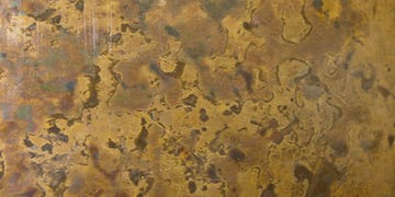 Patinated Copper