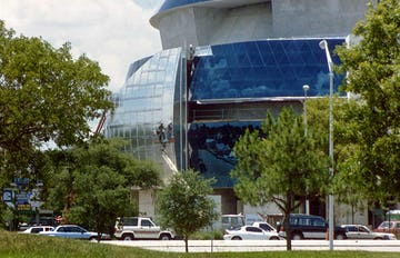 Tampa MOSI during construction.