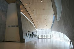 Interior metalwork for BOK Center in Oklahoma.