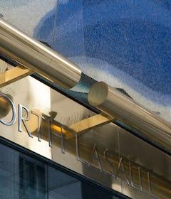 Muntz metal architectural details for 120 N. LaSalle.