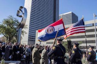 Photographs from the Hyatt Skywalk Memorial Dedication