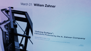 L. William Zahner speaks at University of Texas at Austin
