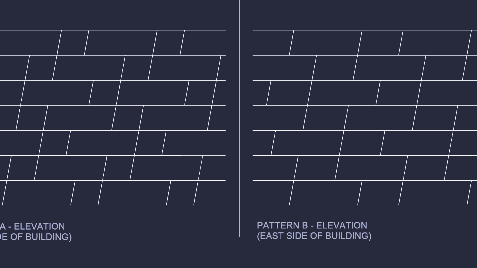 Architectural Shingle Layout Pattern New Decoration