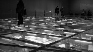 Glass floor systems