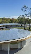 The River at Grace Farms, exterior anodized aluminum.