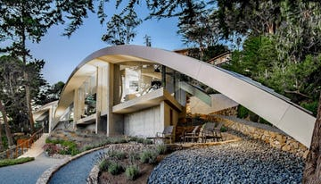 Exterior of Serenity residence by Wallace E. Cunningham.