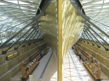 The Cutty Sark at the Sammy Ofer Gallery in London