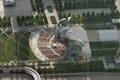 Canopy at Millenium Park in Chicago.