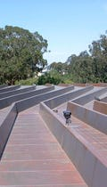 Inverted Seam roof system and channel design for the de Young Museum roof