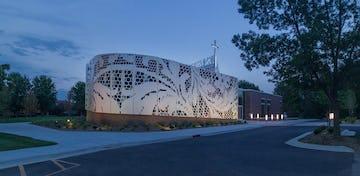 The Mockup for St. Teresa's Academy at Zahner in Kansas City.