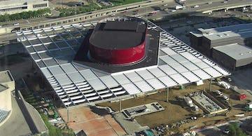 Winspear Opera House aerial photograph
